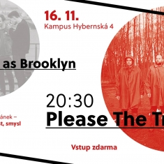Koncert - Please The Trees pro Rok demokracie a humanity