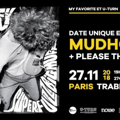 Koncert - Paris (supporting Mudhoney)